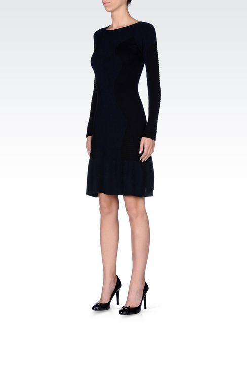 KNIT DRESS: Short Dresses Women by Armani - 2