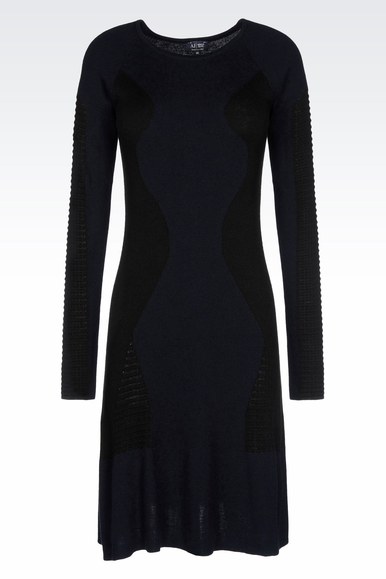 KNIT DRESS: Short Dresses Women by Armani - 0