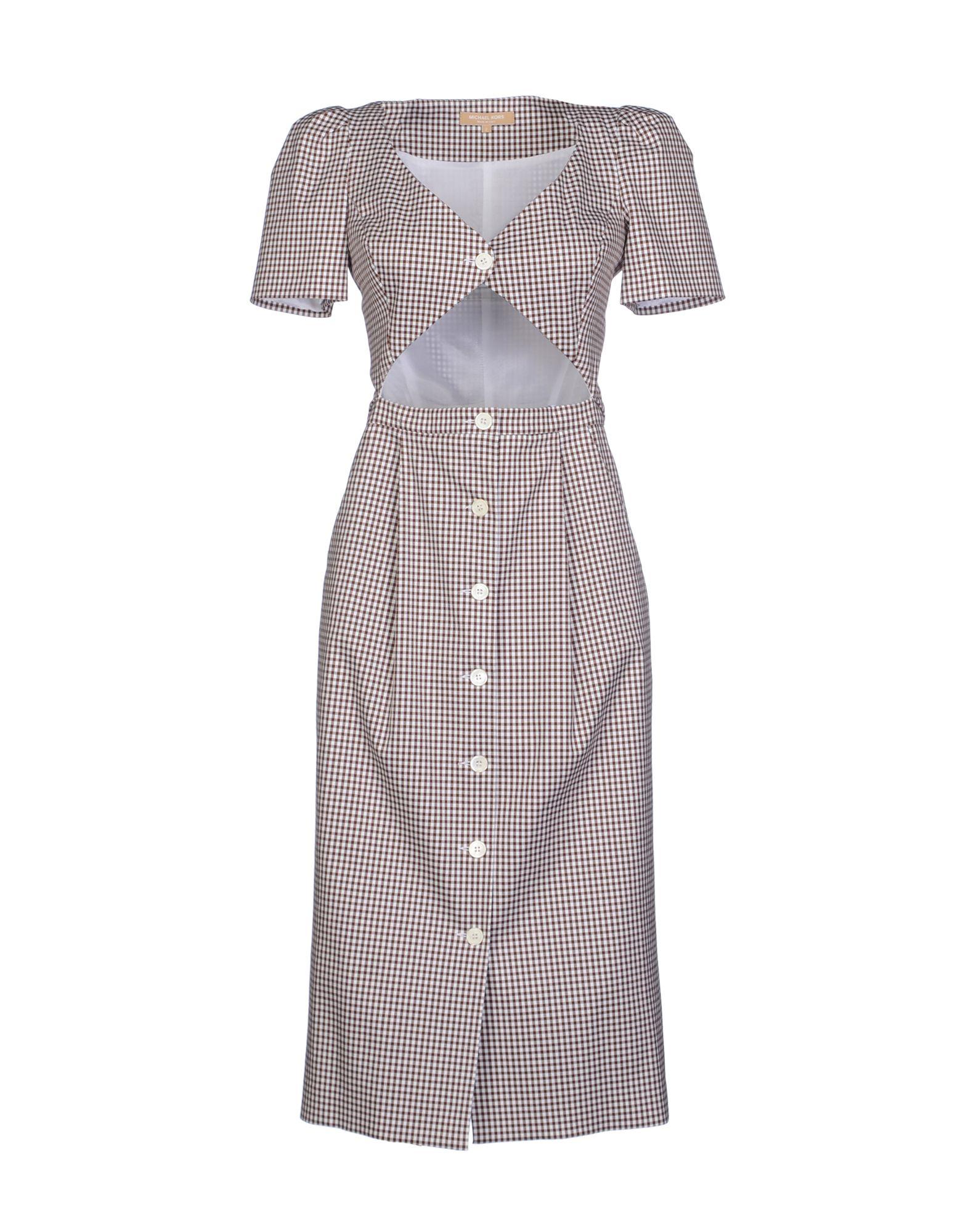 michael kors female michael kors kneelength dresses