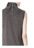 ALEXANDER WANG TUNIC WITH ZIP BANDANA  KNIT DRESS Adult 8_n_a