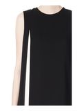 ALEXANDER WANG DOUBLE LAYER DRESS WITH CONTRAST SLIT Short Dress Adult 8_n_a