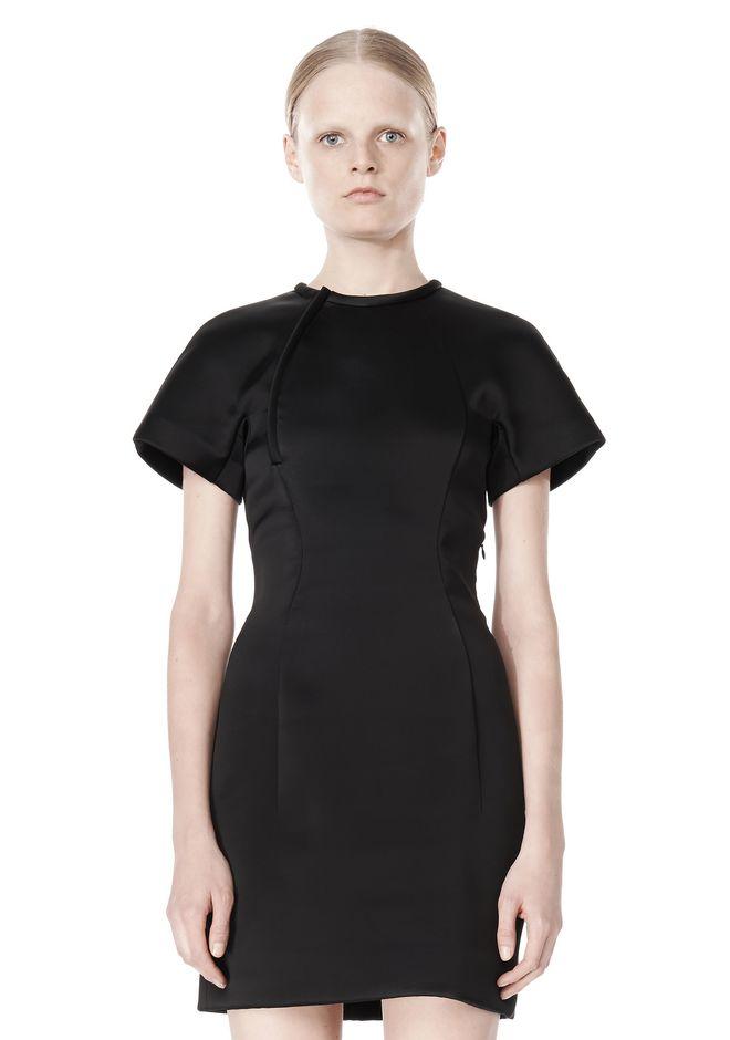 ALEXANDER WANG EXCLUSIVE SCULPTED T-SHIRT DRESS Short Dress Adult 12_n_d