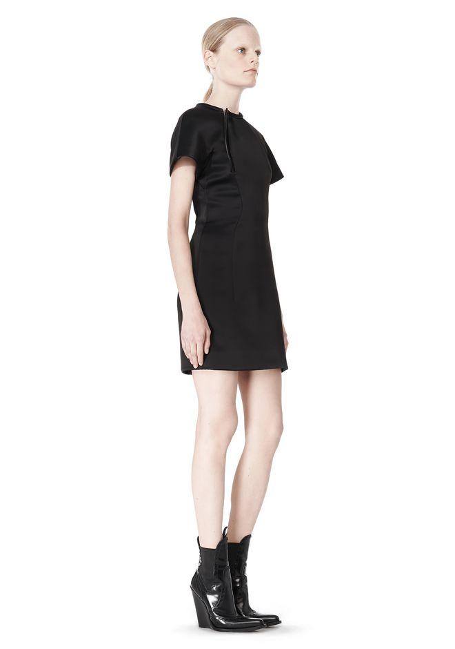 ALEXANDER WANG EXCLUSIVE SCULPTED T-SHIRT DRESS Short Dress Adult 12_n_e