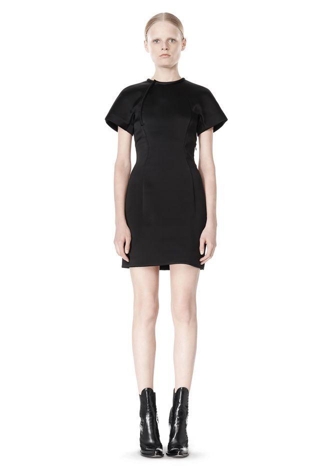 ALEXANDER WANG EXCLUSIVE SCULPTED T-SHIRT DRESS
