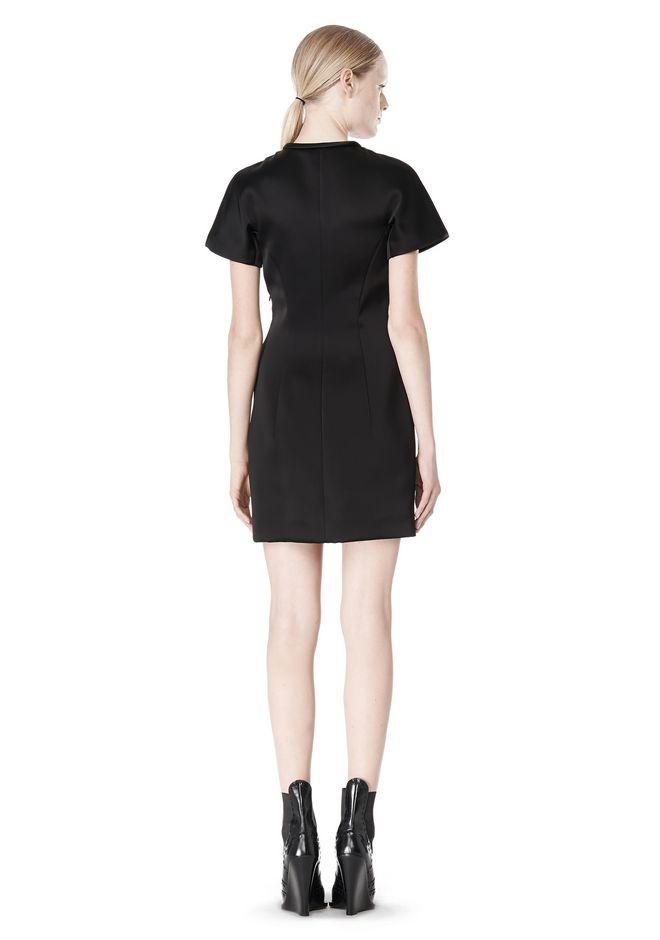 ALEXANDER WANG EXCLUSIVE SCULPTED T-SHIRT DRESS Short Dress Adult 12_n_r