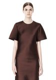 ALEXANDER WANG EXCLUSIVE T-SHIRT DRESS WITH FRINGE Short Dress Adult 8_n_a
