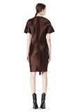 ALEXANDER WANG EXCLUSIVE T-SHIRT DRESS WITH FRINGE Short Dress Adult 8_n_e