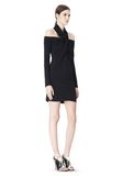 ALEXANDER WANG LONG SLEEVE SHOUDLERLESS DRESS  Short Dress Adult 8_n_e