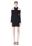 ALEXANDER WANG LONG SLEEVE SHOUDLERLESS DRESS  Short Dress Adult 8_n_f