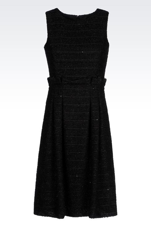 DRESS IN LUREX JERSEY: Short Dresses Women by Armani - 1