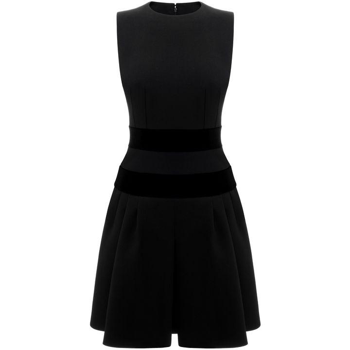 Alexander McQueen, Pleated Mini Dress