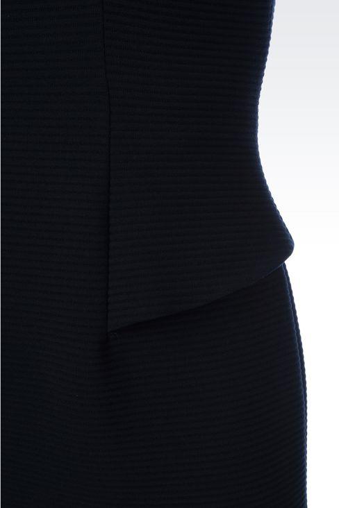 SHEATH IN VISCOSE BLEND: Short Dresses Women by Armani - 5