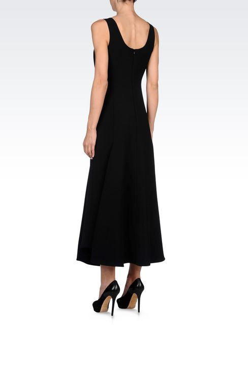 LONG DRESS WITH LOW BACK: 3/4 Length Dresses Women by Armani - 4