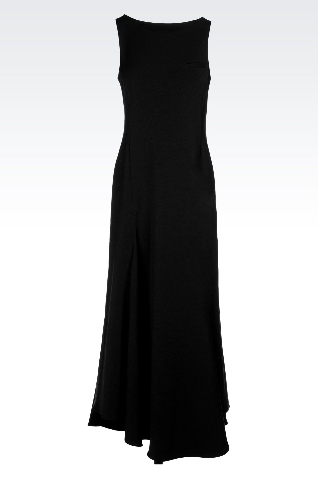 LONG DRESS WITH LOW BACK: 3/4 Length Dresses Women by Armani - 0