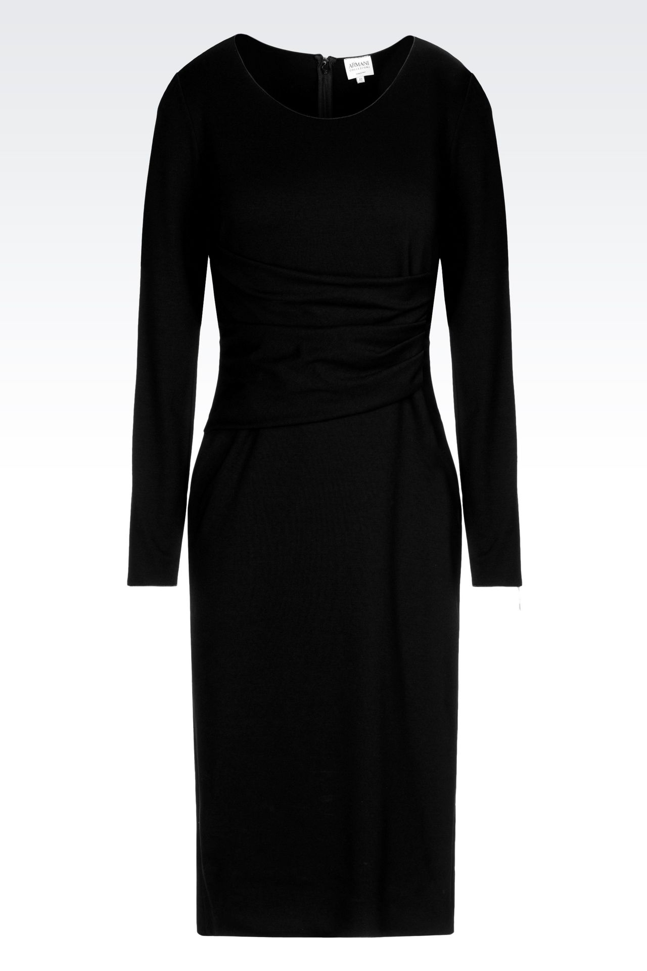DRESS IN VISCOSE BLEND: Jersey dresses Women by Armani - 0