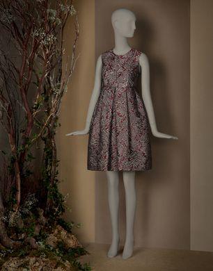 KLEID IM LOLITA-STIL AUS JACQUARD-BROKAT - Kurze Kleider - Dolce&Gabbana - Winter 2015