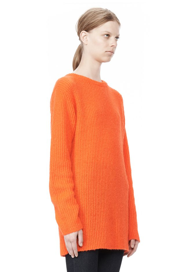 T by ALEXANDER WANG MOHAIR KNIT TUNIC DRESS TOP Adult 12_n_a