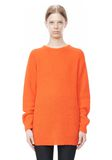 T by ALEXANDER WANG MOHAIR KNIT TUNIC DRESS TOP Adult 8_n_e