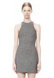 T by ALEXANDER WANG MESH BONDED NEOPRENE SLEEVELESS DRESS Short Dress Adult 8_n_d