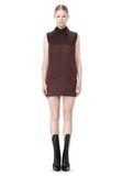 ALEXANDER WANG SHORT SLEEVE TUNIC DRESS WITH SHIRT COLLAR Short Dress Adult 8_n_f