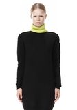 ALEXANDER WANG SPLITTABLE TURTLENECK DRESS KNIT DRESS Adult 8_n_d