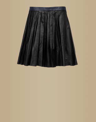 TRU TRUSSARDI - Leather skirt
