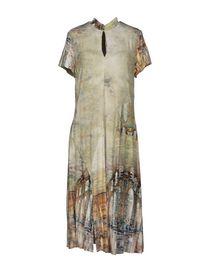 OBLIQUE - 3/4 length dress