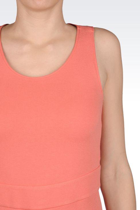 DRESS IN MILANO JERSEY VISCOSE BLEND: Jersey dresses Women by Armani - 5