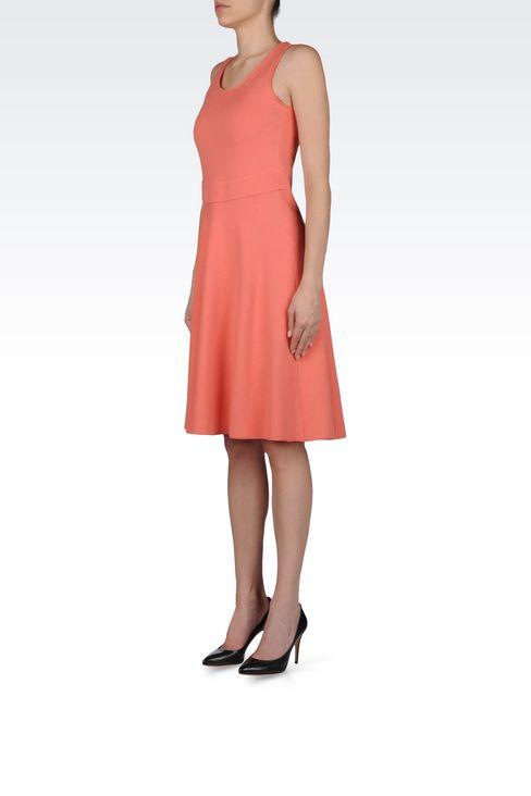 DRESS IN MILANO JERSEY VISCOSE BLEND: Jersey dresses Women by Armani - 3