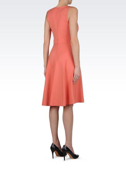 DRESS IN MILANO JERSEY VISCOSE BLEND: Jersey dresses Women by Armani - 4