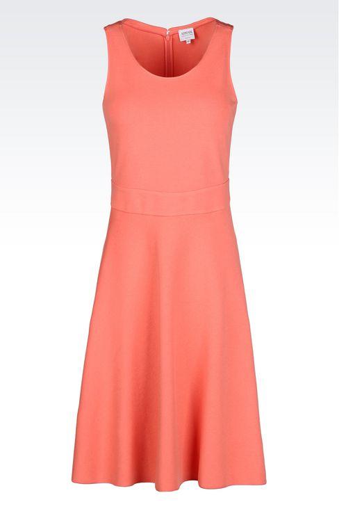 DRESS IN MILANO JERSEY VISCOSE BLEND: Jersey dresses Women by Armani - 1