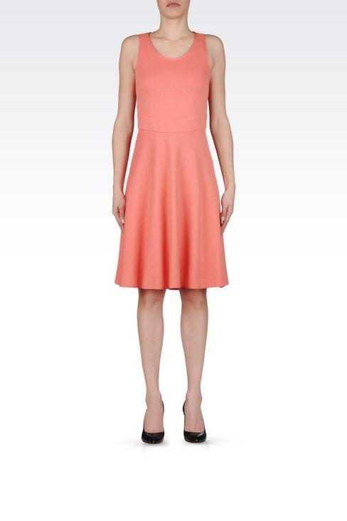 DRESS IN MILANO JERSEY VISCOSE BLEND: Jersey dresses Women by Armani - 2