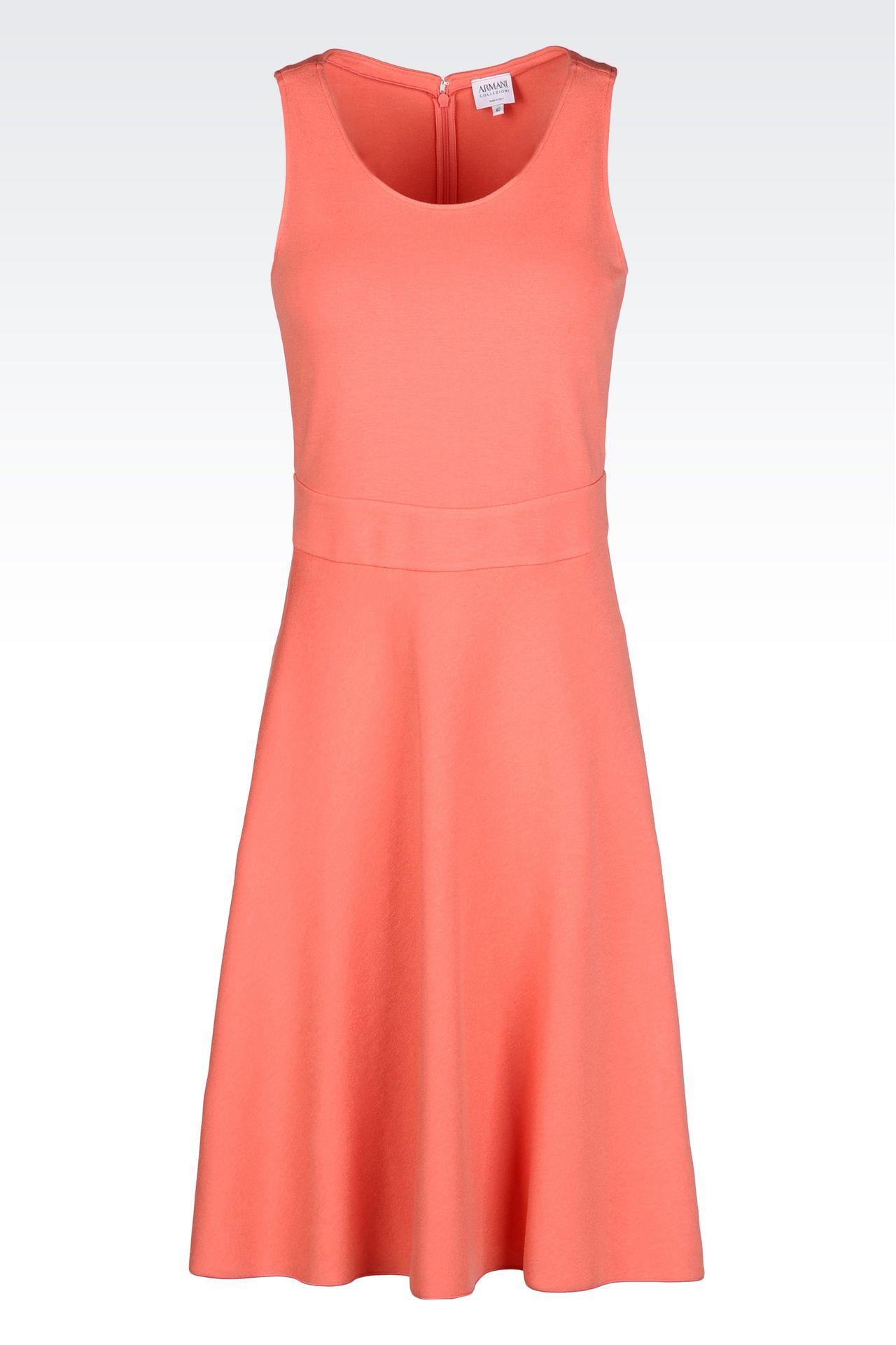 DRESS IN MILANO JERSEY VISCOSE BLEND: Jersey dresses Women by Armani - 0