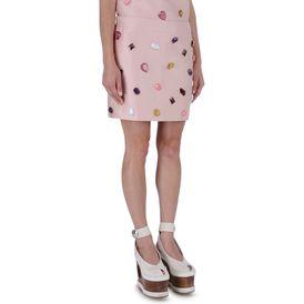 STELLA McCARTNEY, Mini-jupe, Jupe avec pierres brodées