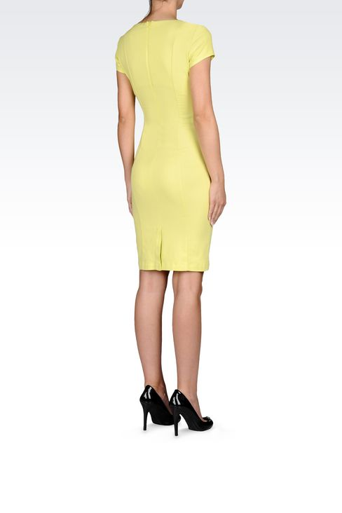 SHEATH IN COTTON BLEND