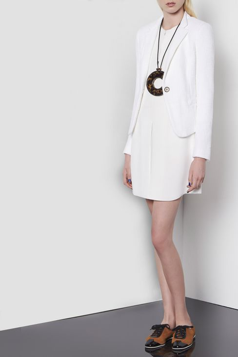 SHIRT DRESS IN SILK: Long-sleeved dresses Women by Armani - 2