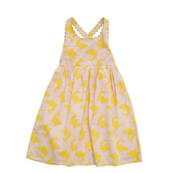 STELLA McCARTNEY KIDS, Dresses & All-in-one, DAHLIA SHARK PRINT DRESS