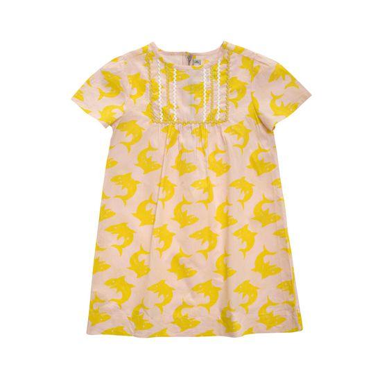 STELLA McCARTNEY KIDS, Dresses & All-in-one, OLWYN SHARK PRINT DRESS