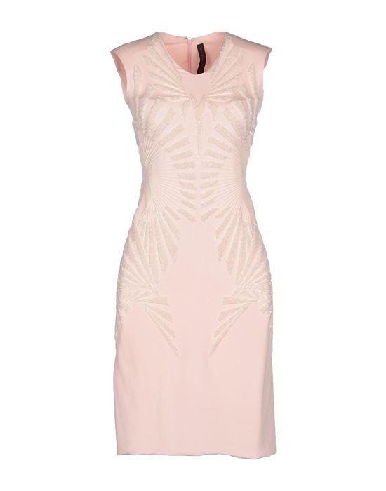 Короткое платье JEAN PIERRE BRAGANZA. Цвет: розовый