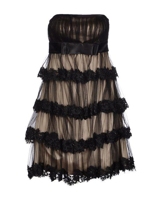 Короткое платье AFTERSHOCK. Цвет: черный