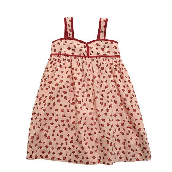 STELLA McCARTNEY KIDS, Dresses & All-in-one, RUBY APPLE PRINT DRESS