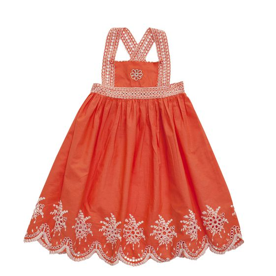 STELLA McCARTNEY KIDS, Dresses & All-in-one, LILY EMBROIDERED DRESS