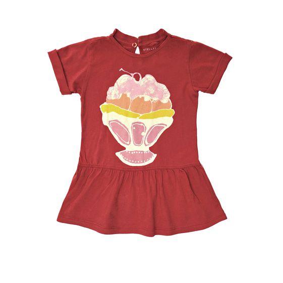 STELLA McCARTNEY KIDS, Dresses & All-in-one, JESS ICE CREAM DRESS