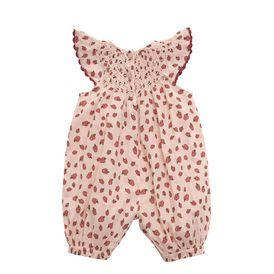 STELLA McCARTNEY KIDS, Dresses & All-in-one, SUN APPLE PRINT OVERALLS