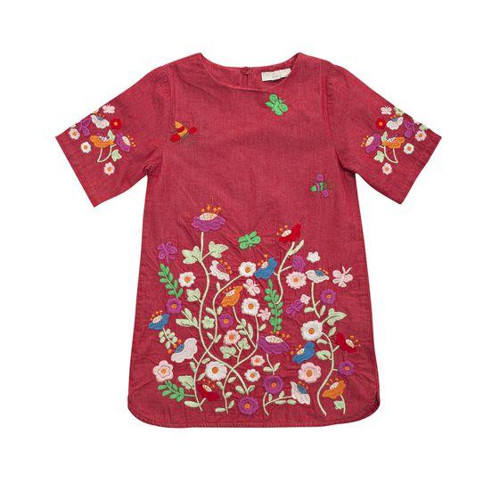 STELLA McCARTNEY KIDS, Dresses & All-in-one, SIG FLORAL DRESS