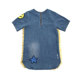STELLA McCARTNEY KIDS, Dresses & All-in-one, BESS DENIM DRESS