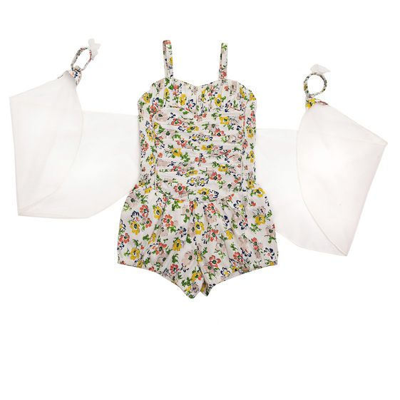 STELLA McCARTNEY KIDS, Dresses & All-in-one, BONNIE FLORAL ALL-IN-ONE