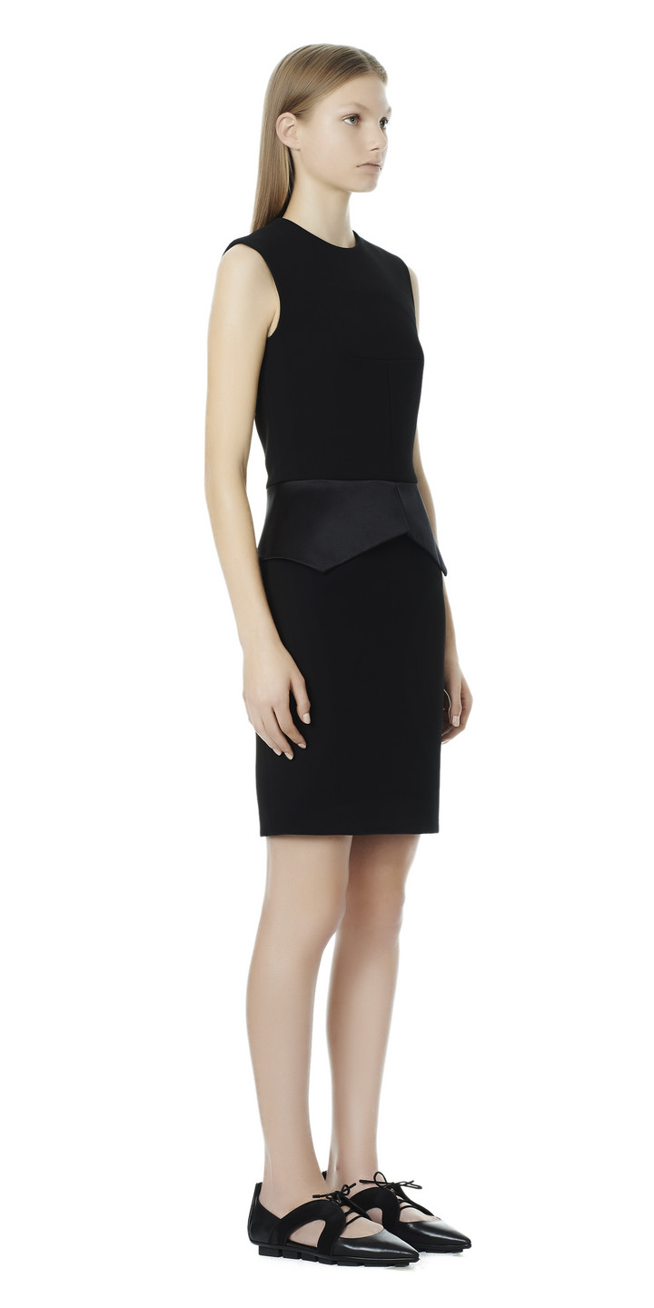 Balenciaga Peplum Dress