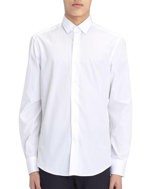 lanvin grosgrain shirt men