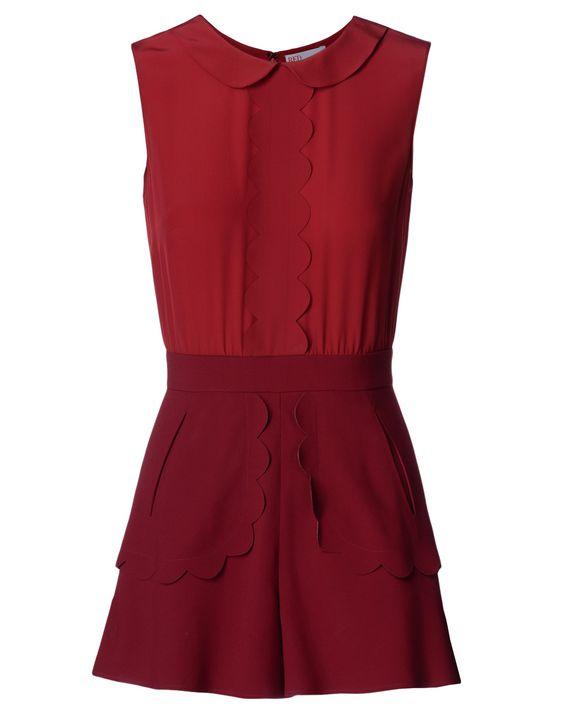 REDValentino JR3VE0351SG 717 Dress Woman f